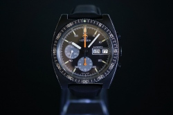 Lemania black pvd, calibre...